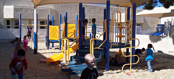 Hill and Dale Child Development Center - Playground